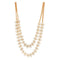 Jeweljunk 2 Line Gold Plated Necklace