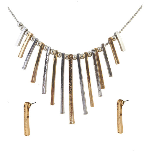 Jeweljunk Fashionable Golden Necklace Set