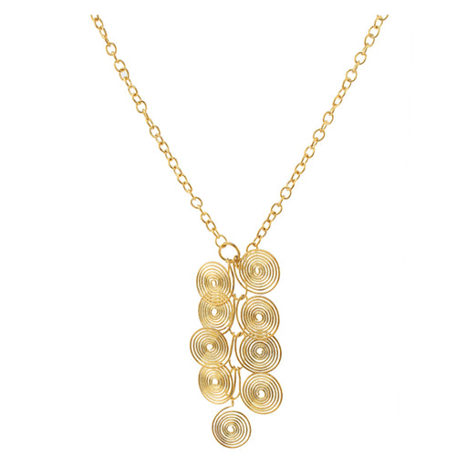 Kriaa Alloy Gold Plated Contemporary Necklace