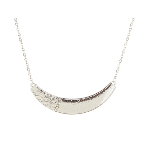 Jeweljunk Rhodium Plated Necklace