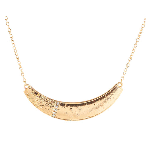 Jeweljunk Antique Gold Plated Necklace