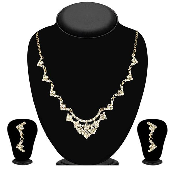 Eugenia Austrian Stone Gold Plated Necklace Set
