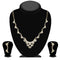 Eugenia Austrian Stone Gold Plated Necklace Set  - NB