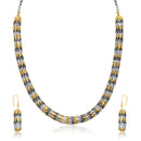 Beadside 2 Tone Plated Necklace Set