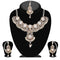 Vivant Charms Stone Pearl Necklace Sets With Maang Tikka