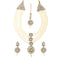 Vivant Charms Austrian Stone  Necklace Set With Maang Tikka