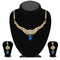 The99Jewel Blue Austrian Stone Drop Necklace Set