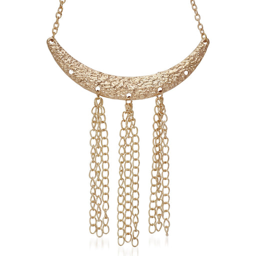 Jeweljunk Gold Plated  Statement Necklace