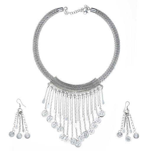 Urthn Silver Plated Statement Set