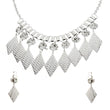 Jeweljunk Austrian Stone Statement Necklace Set