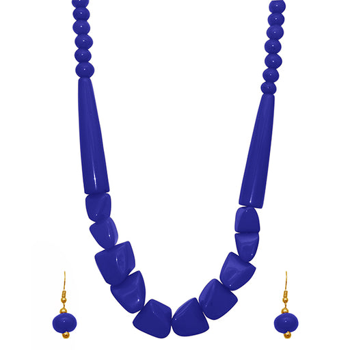 Beadside Beads Antique Gold Plated Necklace Set
