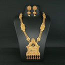 Utkrishtt Elephant Design Haram Necklace Set