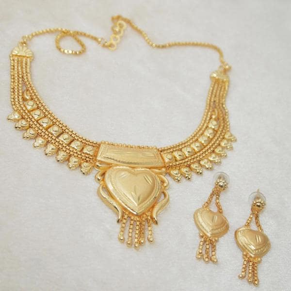 Kalyani Brass Forming Necklace Set