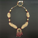 Utkrishtt Pearl Copper Necklace Set
