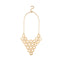 Urthn Gold Plated Statement Necklace