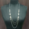 Urthn Silver Plated Pearls Statement Necklace