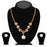 Urthn Gold Plated Austrian Stone Necklace Set - NB