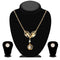 Urthn Austrian Stone Gold Plated Necklace Set - NB