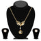Urthn Austrian Stone Gold Plated Necklace Set