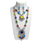 Jeweljunk 2 Layer Multicolor Necklace Set
