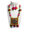 Jeweljunk Multicolour Beads Thread Necklace Set