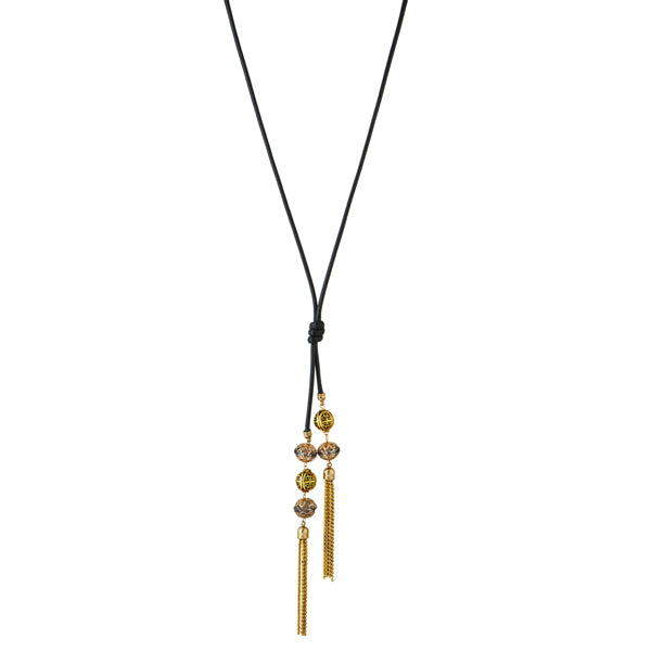 Urthn Gold Plated Stone Fusion Necklace