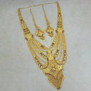 Neu Gold Copper Forming Gold Plated Long Necklace Set