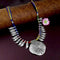 Native Haat Silver Plated Handmade Multi Dori Tribal Necklaces - N1114513A