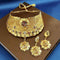 Kalyani Forming Gold Plated Traditional Designer Necklace & Earring Set -1115011