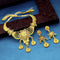 Kalyani Forming Gold Plated Traditional Designer Necklace & Earring Set -1115021