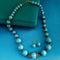 Native Haat Blue Beads Necklace Set