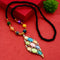Native Haat Stylish Multi Beads Austrian Stone Necklace