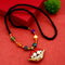 Native Haat Multi Beads Lip Necklace