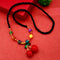 Native Haat Multi Beads Cherry Necklace