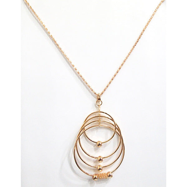 Kriaa Gold Plated Chain Pendant