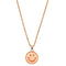 Urthn Smiley Gold Plated Chain Pendant
