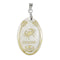 Regina Cancer Oval Shape Pendant