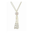 The99Jewel Zinc Alloy White Pearl Necklace