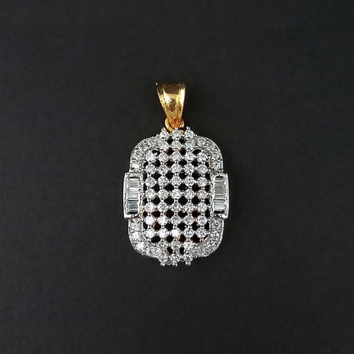 Kriaa AD Stone Gold Plated Pendant