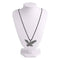 Urthn Rhodium Plated Eagle Design Chain Pendant - 1202244 - AS