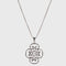 Urthn Rhodium Plated Chain Pendant