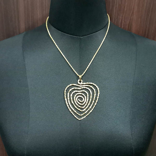 Urthn Zinc Alloy Gold Plated Chain Pendant