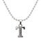 "Regina Rhodium Plated "" T "" Alphabet Chain Pendant  - 1203170 - AS"