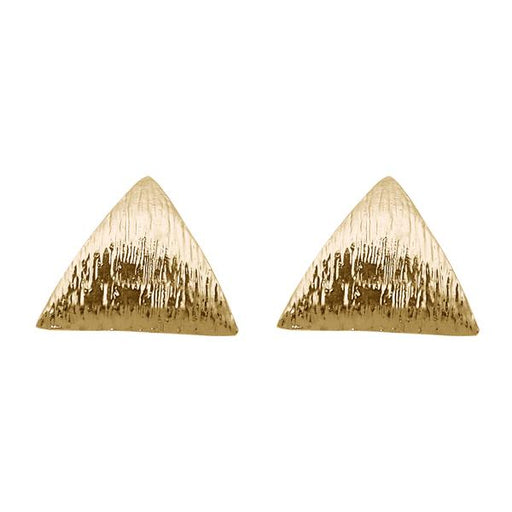 Beadside Antique Gold Plated Stud Earrings