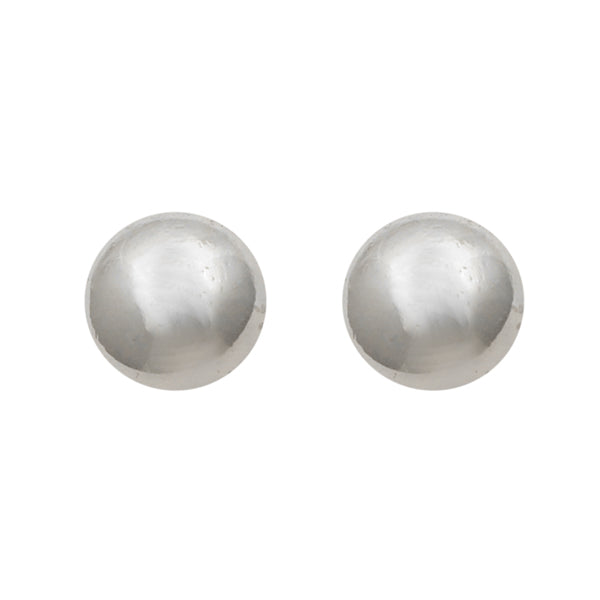 Beadside Silver Plated Stud Earrings