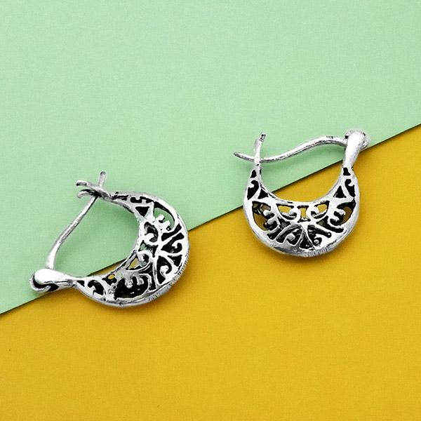 Jeweljunk Oxidised Plated Stud Earrings - N1304732