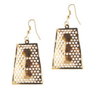 The99Jewel Gold Plated Austrian Stone Dangler Earrings - 1306424 - FS