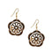 The99Jewel Austrian Stone Gold Plated Dangler Earrings - 1306425 - AS