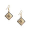 The99Jewel Gold Plated Austrian Stone Dangler Earrings - 1306429 - FS