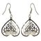 The99Jewel Silver Plated Austrian Stone Dangle Earrings - 1306431 - AS